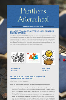 Panther's Afterschool