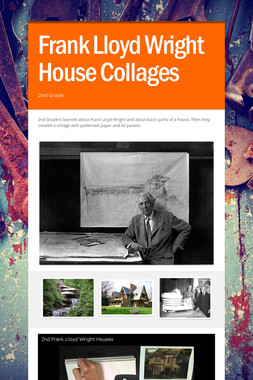 Frank Lloyd Wright House Collages