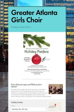 Greater Atlanta Girls Choir