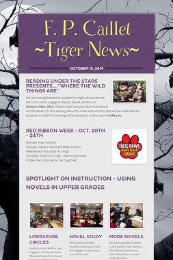 F. P. Caillet ~Tiger News~
