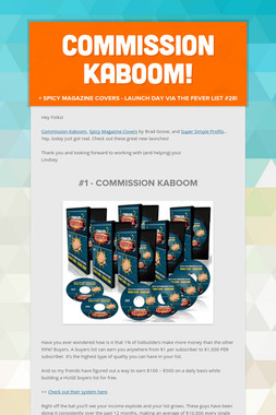 Commission Kaboom!