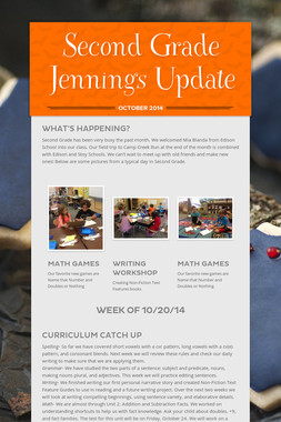 Second Grade Jennings Update