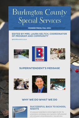 Burlington County Special Services
