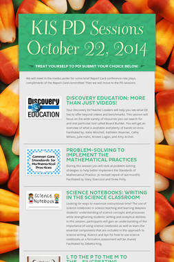 KIS PD Sessions October 22, 2014