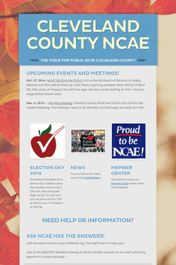 Cleveland County NCAE