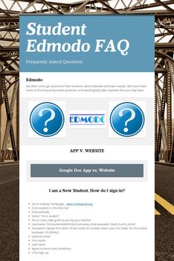 Student Edmodo FAQ