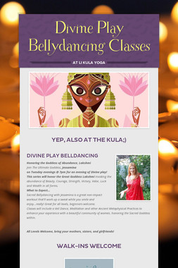 Divine Play Bellydancing Classes
