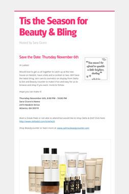 Tis the Season for Beauty & Bling
