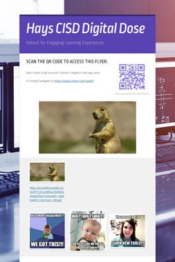 Hays CISD Digital Dose
