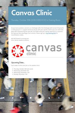 Canvas Clinic