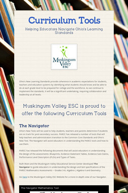 Curriculum Tools