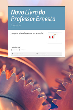 Novo Livro do Professor Ernesto