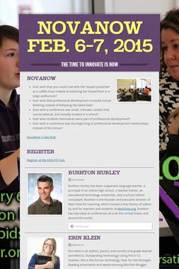 NovaNow     Feb. 6-7, 2015