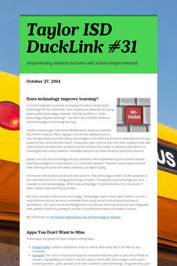 Taylor ISD DuckLink #31