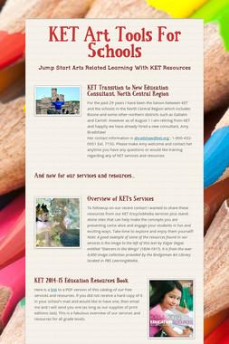 KET Art Tools For Schools