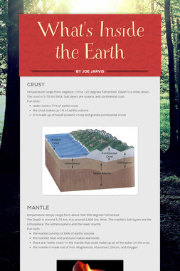 What's Inside the Earth