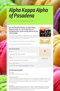 Alpha Kappa Alpha of Pasadena
