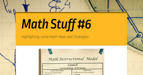 math stuff 6 smore newsletters for education