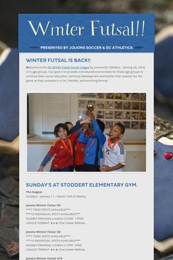 Winter Futsal!!