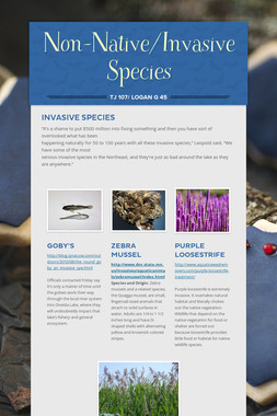 Non-Native/Invasive Species