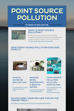 Point Source Pollution