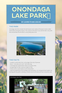 Onondaga Lake Park💙