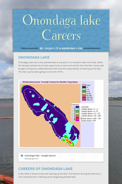 Onondaga lake              Careers