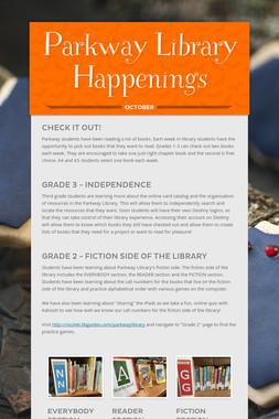 Parkway Library Happenings