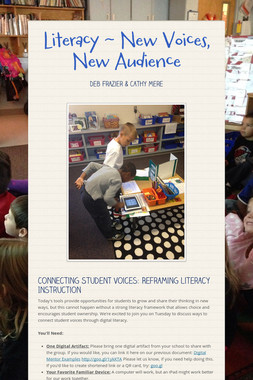 Literacy ~ New Voices, New Audience