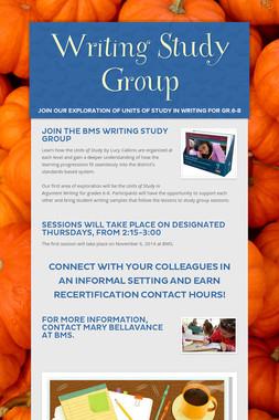 Writing Study Group
