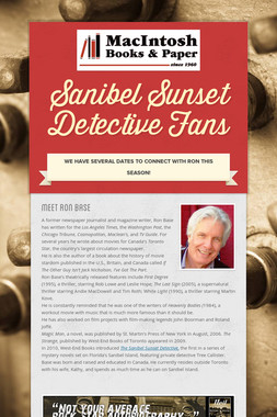 Sanibel Sunset Detective Fans