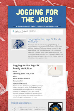 Jogging for the Jags