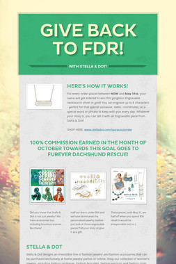 Give Back to FDR!