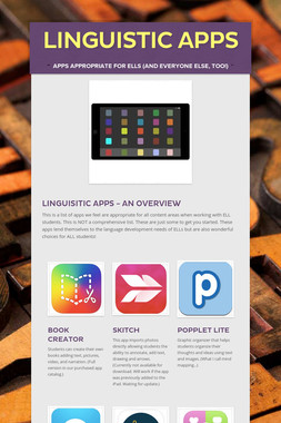 LInguistic Apps