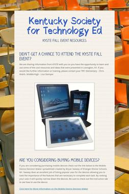 Kentucky Society for Technology Ed