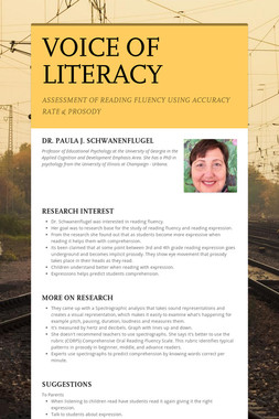 VOICE OF LITERACY