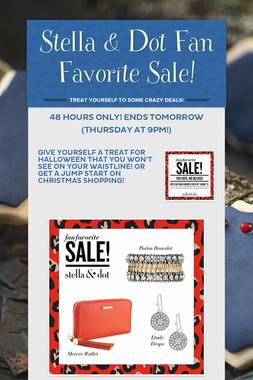 Stella & Dot Fan Favorite Sale!