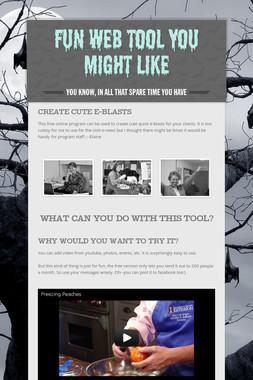 Fun Web Tool You Might Like