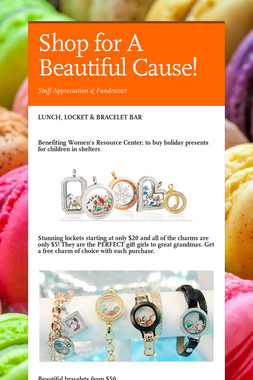 Shop for A Beautiful Cause!