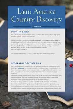 Latin America Country Discovery