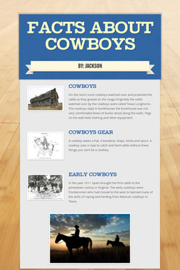 Facts about cowboys