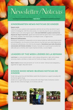 Newsletter/Noticias