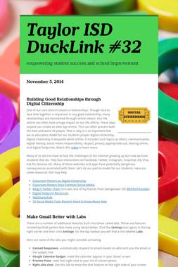 Taylor ISD DuckLink #32