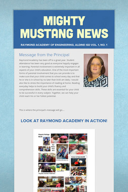 Mighty Mustang News