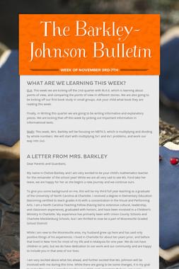 The Barkley-Johnson Bulletin