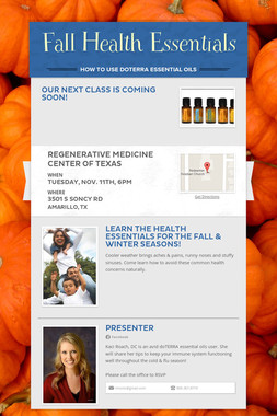 Fall Health Essentials