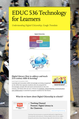EDUC 536 Technology for Learners
