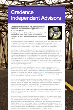 Credence Independent Advisors
