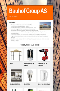 Bauhof Group AS