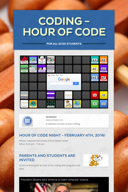 Coding - Hour of Code